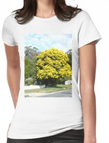 Wattle  Womens Fitted T-Shirt