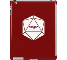 __dungeons and dragons ranger iPad Case/Skin