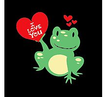 I love You- Valentine day- Love Day Photographic Print