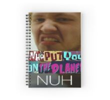 Who put memes on the planet Spiral Notebook