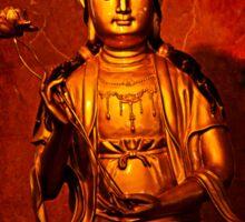 Guan Yin Image Statue Sticker