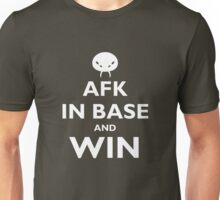 AFK and win - white Unisex T-Shirt
