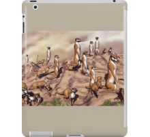 Meerkat Manor  iPad Case/Skin