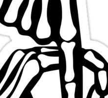 Gamma Phi Skeleton Hands Sticker