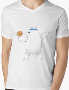 Ice Bear Mens V-Neck T-Shirt