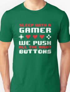 Sleep With A Gamer T-Shirt