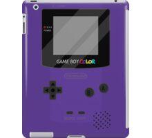 Gameboy Color - Purple iPad Case/Skin