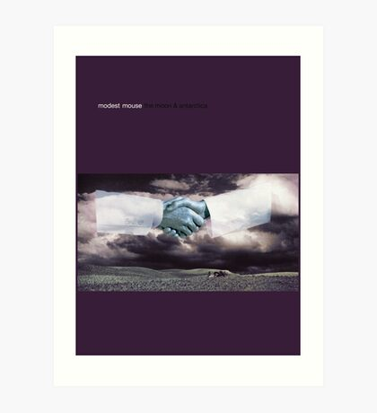 Modest Mouse - The Moon and Antarctica Art Print