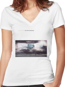 Modest Mouse - The Moon and Antarctica Women's Fitted V-Neck T-Shirt