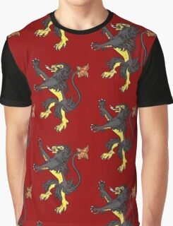 Pokemon / Game of Thrones: Luxray / Lannister Graphic T-Shirt