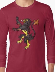 Pokemon / Game of Thrones: Luxray / Lannister Long Sleeve T-Shirt