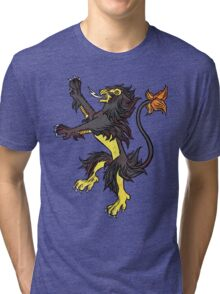 Pokemon / Game of Thrones: Luxray / Lannister Tri-blend T-Shirt