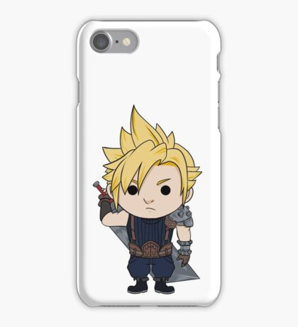 Cloud Strife Chibi iPhone Case/Skin