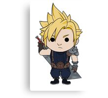 Cloud Strife Chibi Canvas Print