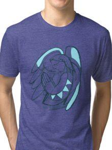 Guardian angel illustration Tri-blend T-Shirt