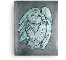 Guardian angel illustration Canvas Print