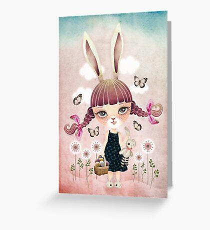 Sugar Bunny Greeting Card