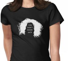 You don't know Jack (invert) Womens Fitted T-Shirt