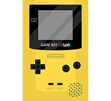 Gameboy Color - Yellow Photographic Print