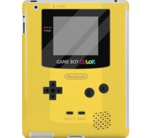 Gameboy Color - Yellow iPad Case/Skin