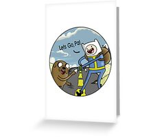 lets go pal! Greeting Card