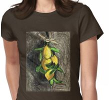 Lemons On The Branch Womens Fitted T-Shirt
