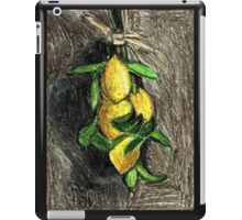 Lemons On The Branch iPad Case/Skin