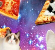 Pizza That's Out of This World Sticker
