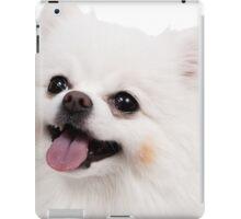 White Pomeranian iPad Case/Skin