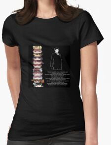 We always return Womens Fitted T-Shirt