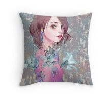 #7 Lilies Throw Pillow