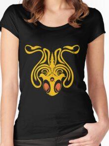 Pokemon / Game of Thrones: Tentacruel / Greyjoy Women's Fitted Scoop T-Shirt