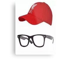 Klopp Glasses & Baseball cap Metal Print