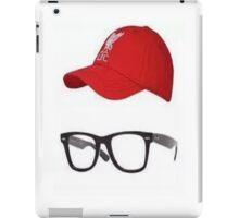 Klopp Glasses & Baseball cap iPad Case/Skin