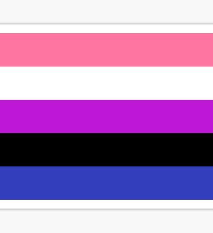 GenderFluid Sticker
