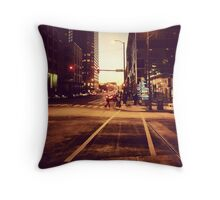 Cross walk Throw Pillow
