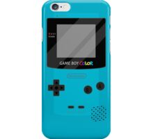 Gameboy Color - Teal iPhone Case/Skin