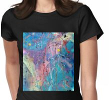 Aqua Dreams Womens Fitted T-Shirt
