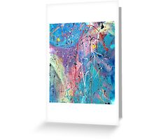 Aqua Dreams Greeting Card