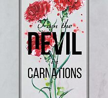 The Devil in Carnations by Barbora  Urbankova