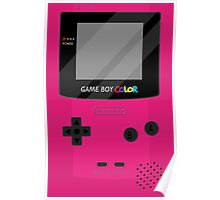Gameboy Color - Berry Poster