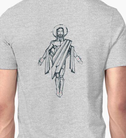 Jesus Christ Resurrection illustration Unisex T-Shirt