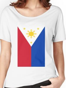Philippines Flag Women's Relaxed Fit T-Shirt
