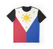 Philippines Flag Graphic T-Shirt