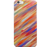 Color Streaks! iPhone Case/Skin