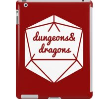 __dungeons and dragons d20 iPad Case/Skin