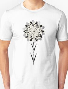 Art Deco Blooming Number 3 T-Shirt