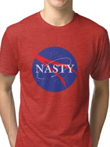 Nasty NASA Tri-blend T-Shirt
