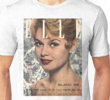 Brigitte Bardot Elle Unisex T-Shirt