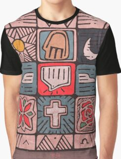 Mosaic Spirit illustration Graphic T-Shirt
